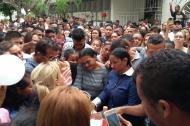 teófilo Gutiérrez asistió al sepelio de su pequeña prima.
