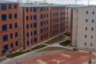 Aspecto de los edificios que están por entregarse en la Villa Centroamericana. Cada uno tiene 5 pisos, en los que habitarán los deportistas durante los Juegos. Está en la avenida Circunvalar entre carreras 38 y 46.