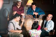 """Carlos Vives en uno de las escenas+ de La """"Ilíada Vallenata"""" que presentará este viernes en el Parque de la Leyenda Vallenata."""