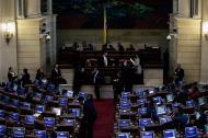 Aspecto de la plenaria de la Cámara de este miércoles.