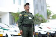 El agente Víctor De la Hoz lleva 46 años al servicio de la Policía.