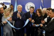 Inauguración de la embajada de Guatemala en Jerusalén.