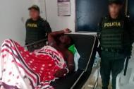 Alias Niche sigue recluido en el hospital de Lorica, donde se ha redoblado la seguridad.
