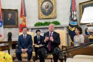 Trump y Moon Jae-in