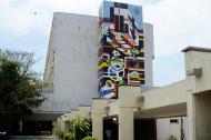 Entrada al Hospital Universitario ESE Cari.