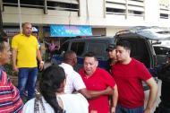 El exalcalde de Cartagena, Manolo Duque, a su llegada al complejo judicial.