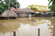 Este es el panorama de las últimas horas en el corregimiento San Jorge, en el municipio de La Apartada.