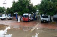 Hospital de Malambo en donde fueron atendidas las tres menores.