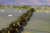 Rende del parque solar El Paso ubicado en Cesar.
