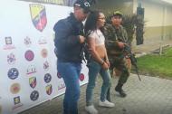 Juan Fernando Osorio fue mostrado a la prensa por las autoridades de Medellín.