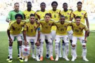 Los 11 titulares de Colombia ante Japón en el Mundial Rusia-2018.