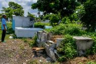 Así se encuentra el cementerio del barrio Santa María, en la localidad Metropolitana de Barranquilla.