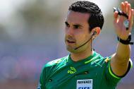 César Ramos, árbitro mexicano.