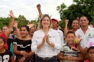 María Alejandra Forero expresó que el pueblo le otorgó la razón.