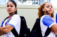 Pamela Rosado y Dayshalee Salaman son las habilidosas armadoras con las que cuenta el equipo de baloncesto de Puerto Rico. Miden 1,63 de estatura.