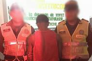 Jafeth Genecco Montes, alias de 'El Chayan', capturado por homicidio.