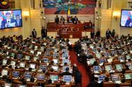 Vista general de la Cámara de Representantes, durante un debate.