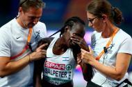 La atleta israelí Lonah Chemtai Salpeter falló en la concentración.