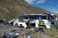 Bus accidentado.