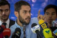 Juan Requesens, diputado opositor detenido.