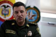 General Fernando Murillo, director del Gaula de la Policía