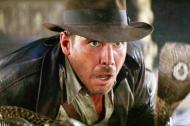 Escena de la primera película de la serie, 'En busca del arca perdida', en la que Harrison Ford tiene puesto el sombrero subastado.