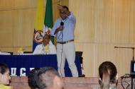 Durante la intervención del consultor Isidro Ruiz.