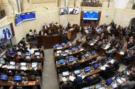 Las comisiones económicas en una de las sesiones realizadas esta semana para discutir el presupuesto.