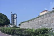 Vistas del Aquarela y el Castillo de San Felipe.