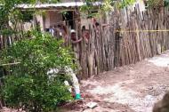 El caso se presentó en el patio de esta casa en Gallego, Sabanalarga.