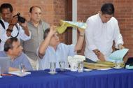 El gobernador Edgar Martínez Romero destacó la transparencia con la que se llevó a cabo esta licitación.