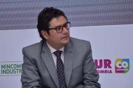 El Director Ejecutivo del Consejo Superior de Transporte, Camilo García.