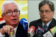 El senador Jorge Robledo y el ministro de Hacienda Alberto Carrasquilla.
