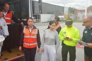 La exguerrillera de las Farc Anayibe Rojas Valderrama, alias 'Sonia'.