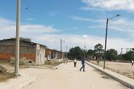 Sector del barrio Villa María, en Solead.
