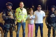 La menor fue rescata en zona rural de Ipiales, Nariño.