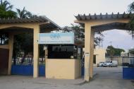 Aspecto de la fachada de la estación de tratamiento de agua potable de Triple A, en Pasadena.