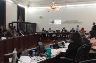 Segunda sesión del primer debate a la reforma a la justicia.