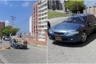 Según el reporte de la Policía de Tránsito, el accidente se registró por una falla mecánica.