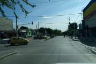 Sitio donde fue baleado Endir Elías Grace Franco.