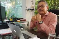 Carlos Prasca, rector de la Universidad del Atlántico.