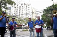 Grupos musicales en las calles de Barranquilla.