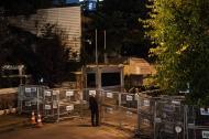 Vista del consulado saudí en Estambul, lugar donde el cuerpo de investigación aseguró que murió el periodista Jamal Khashoggi.