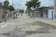 Sector del barrio El Bosque donde ocurrió la riña.