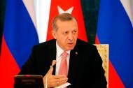 El presidente turco Recep Tayyip Erdogan.
