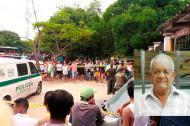 Ascanio Carrillo fue asesinado en su residencia del barrio La María de Sabanagrande.