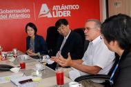 En julio pasado, una delegación de Jiangsu se reunió con Verano en la capital del Atlántico.