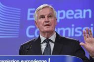 Michel Barnier, jefe negociador de la UE.
