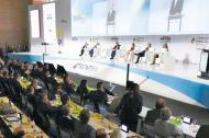 En el Ágora Bogotá se celebra desde ayer la Primera Cumbre del Petróleo y Gas.