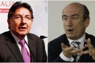 Néstor Martínez, fiscal, y Jorge Pizano, excontroller de la Concesionaria Ruta del Sol.